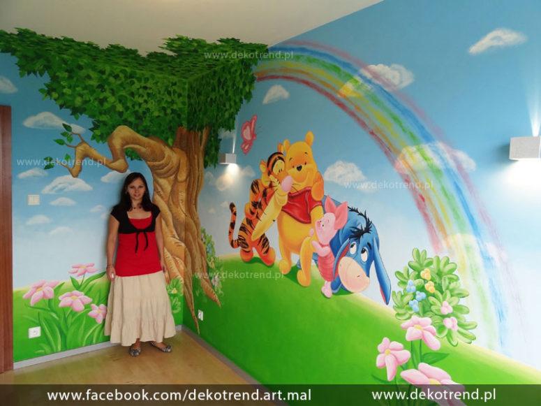 artystyczne malowanie ścian 5