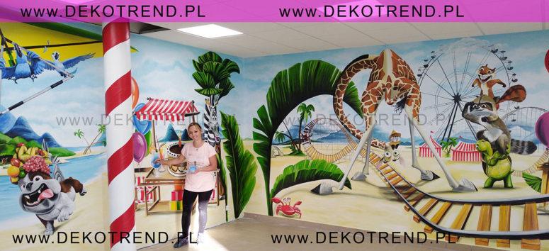 Artystyczne malowanie ścian 2