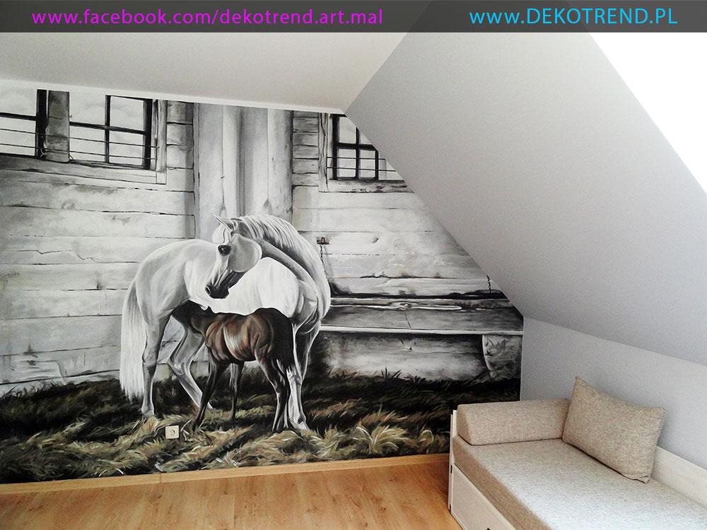Artystyczne malowanie ścian k1