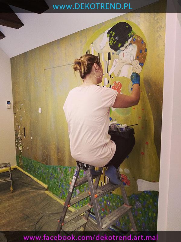 Artystyczne malowanie wnętrz 1