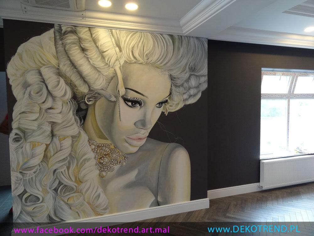 Artystyczne malowanie ścian 3D