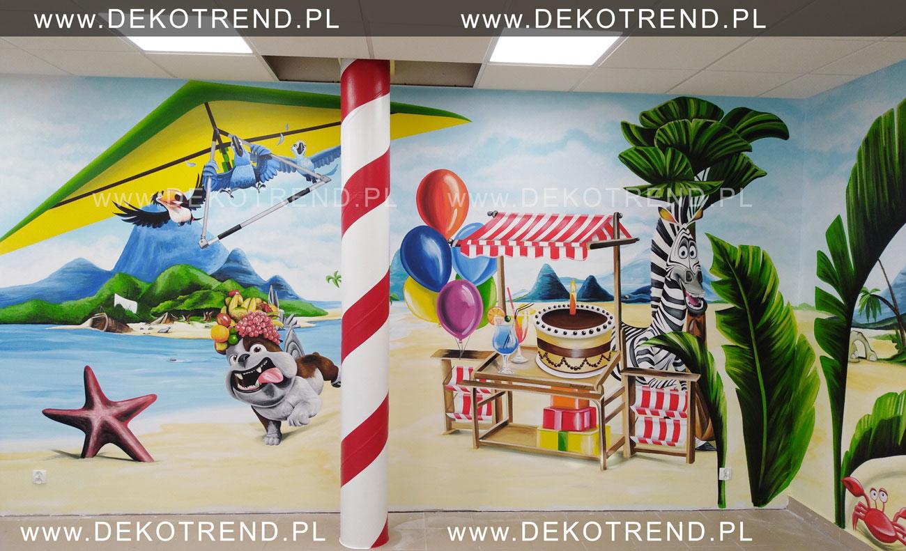 Artystyczne malowanie ścian 4-2