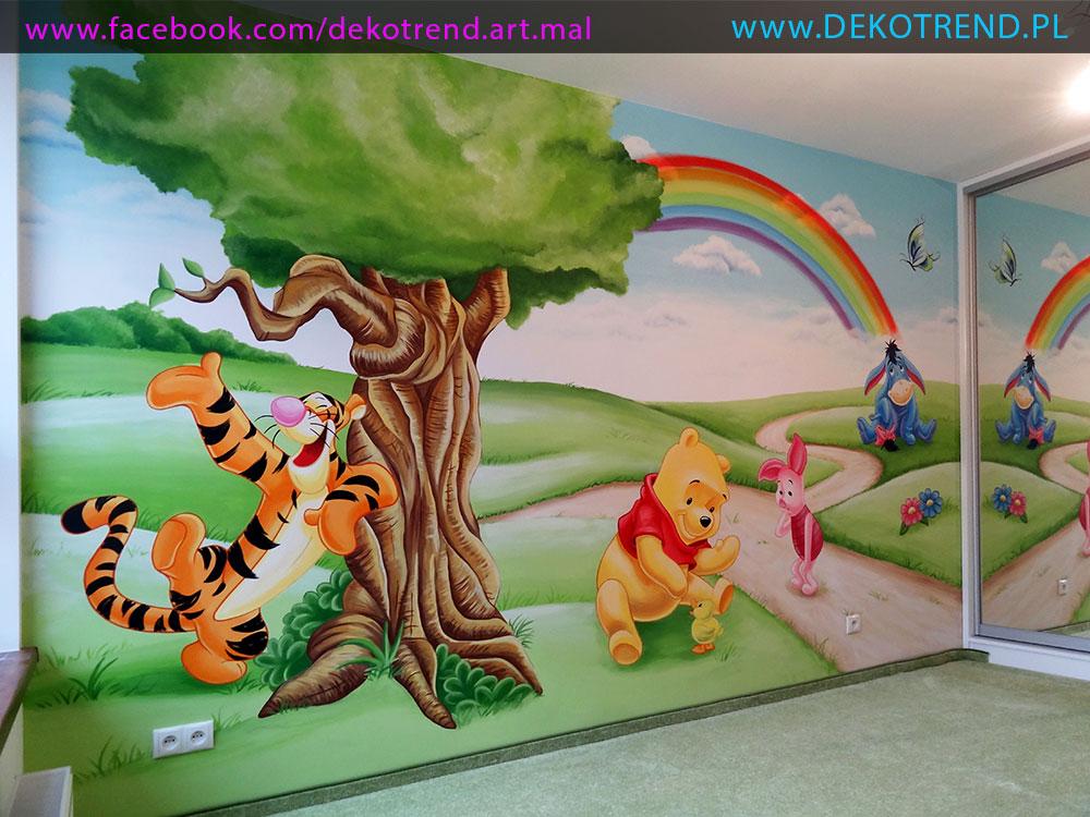 artystyczne malowanie ścian 11