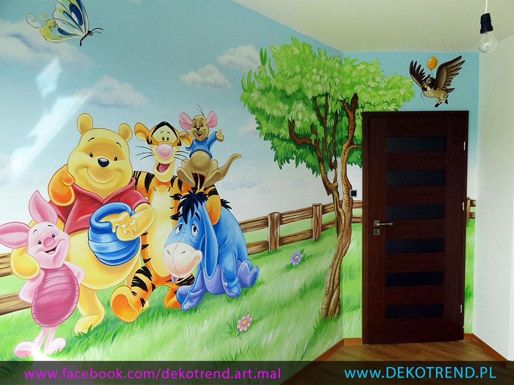 artystyczne malowanie ścian 13