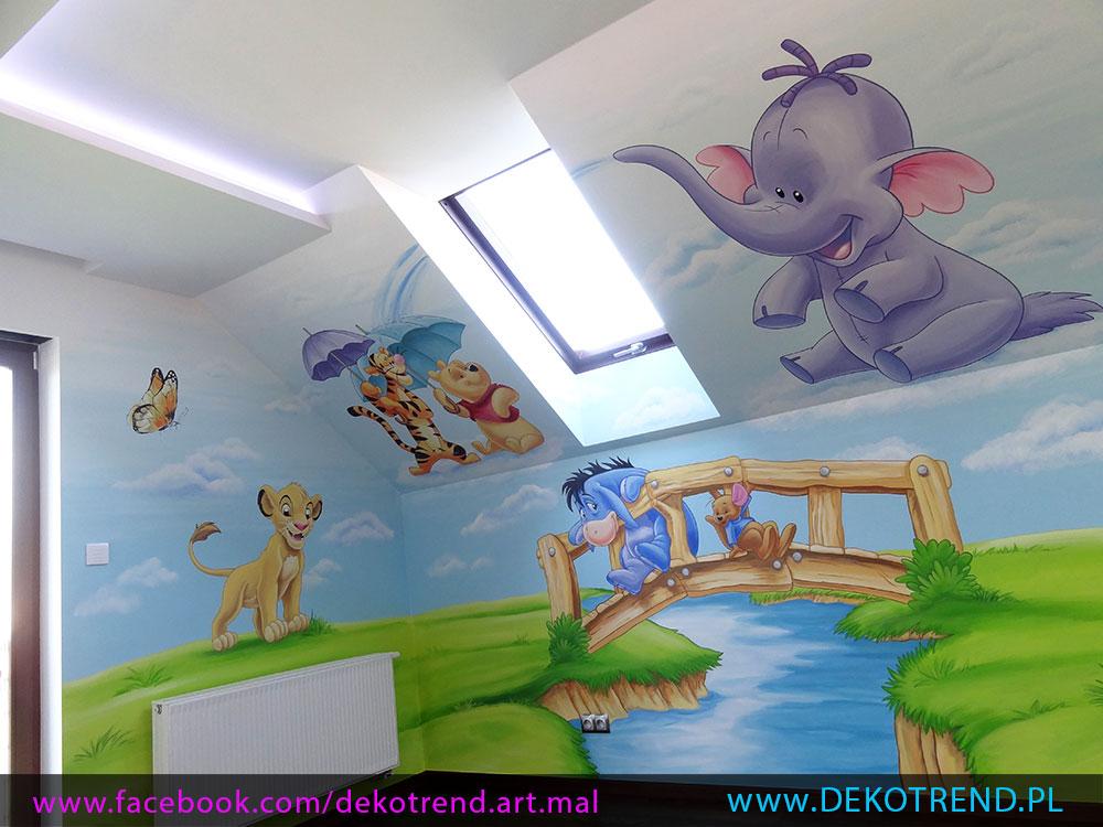 artystyczne malowanie ścian 14