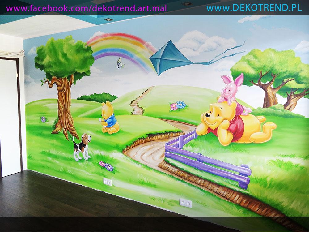 artystyczne malowanie ścian 6