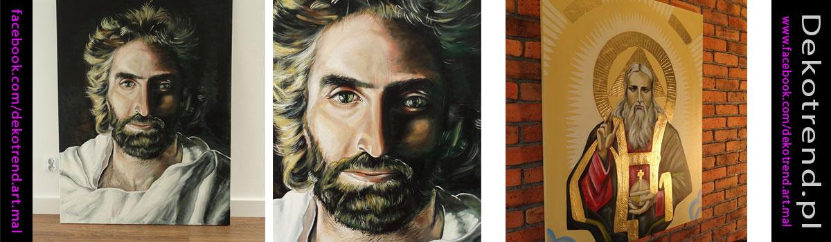Obraz Jezusa oczami Akiane Kramarik.
