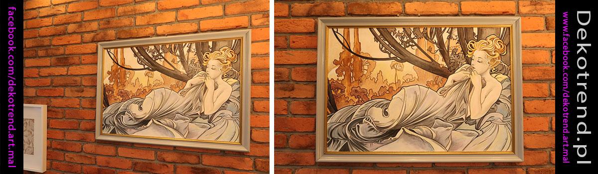 Obrazy do sypialni Alfons Mucha Crepuscule