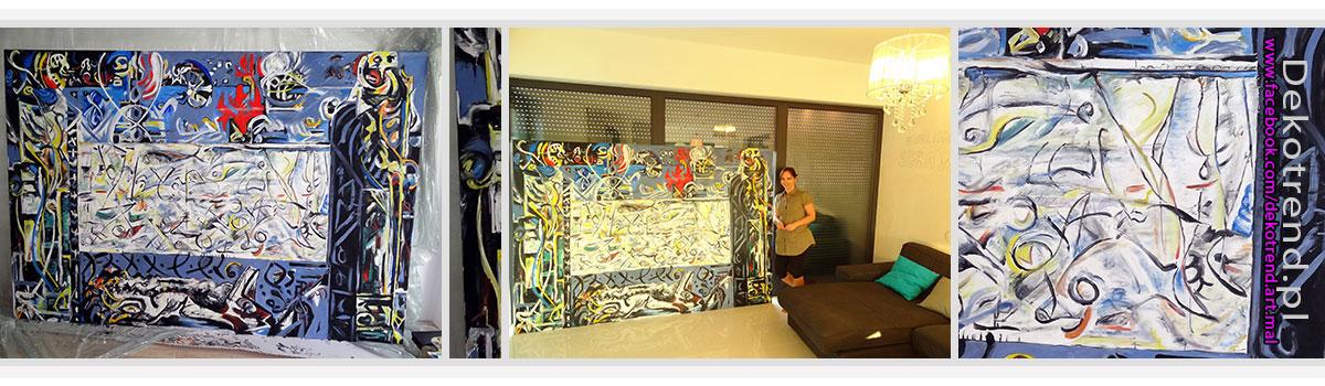 Pollock reprodukcje obrazów.