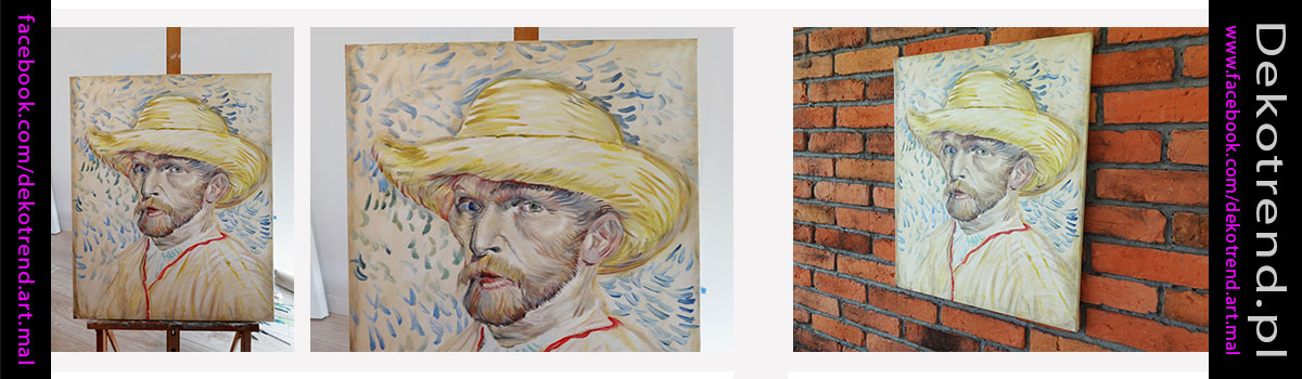 Reprodukcje obrazów Vincent van Gogh Autoportret.